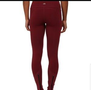 Alo Yoga Leggings with Zippers